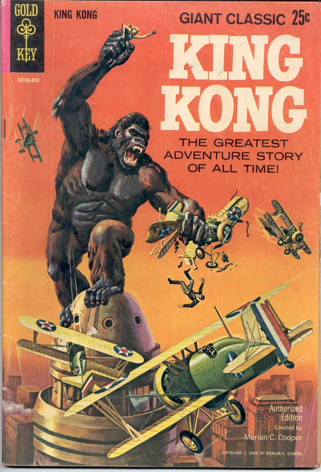 KIng Kong Gold Key