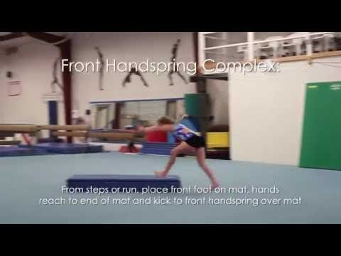 Round Off Backhand Spring Drill | Black Girls Cheer