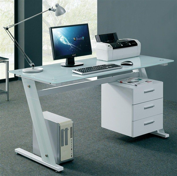 Unique Computer Desks For A Stylist Office Best Garden Small Glass Computer Desk White Computer Desk Glass Desk Office Home Office Table