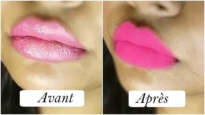 Voici Comment Rendre Nimporte Quel Rouge à Lèvres Mat