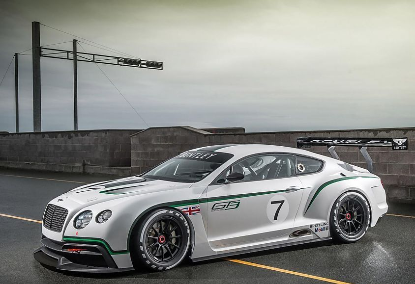 Bentley Continental GT3 race car will be unveiled at Goodwood