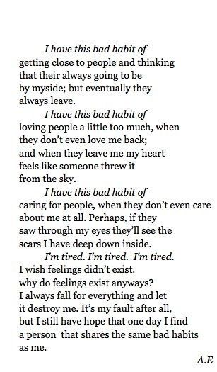 I Care Love Too Much Ugh Soulful Quotes Love Quotes Poems
