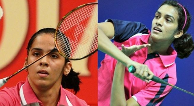 New Delhi Rio Olympic Silver Medallist Pv Sindhu And Ace India Shuttler Saina Nehwal Advanced To The Quarte Badminton Tournament Badminton Championship Sports