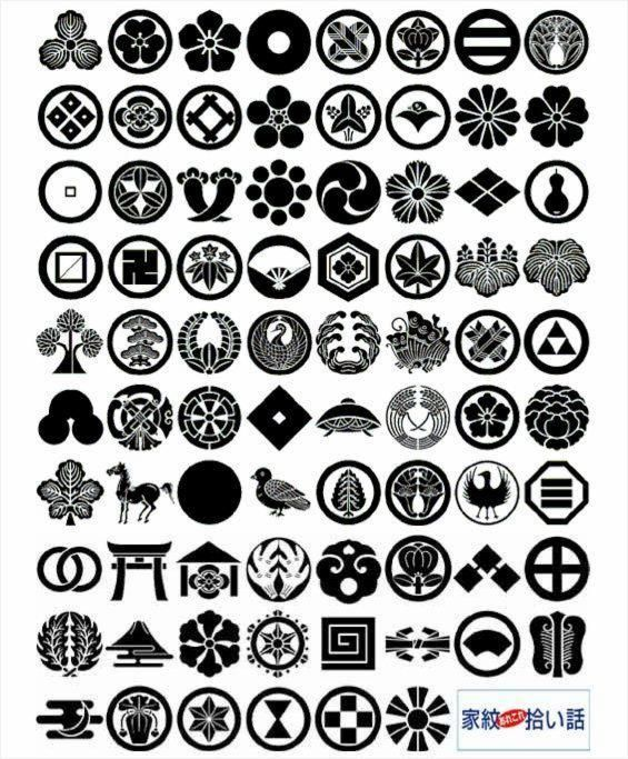 Which Japanese Clan Are You In Clan Symbols Japan Logo Japanese Family Crest