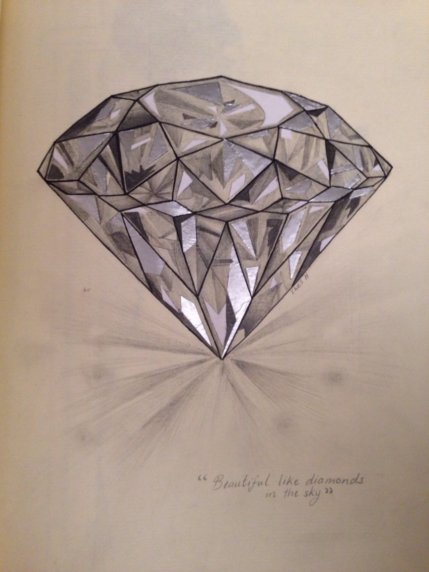 aluminium collage...i mean diamonds, right diamond ...