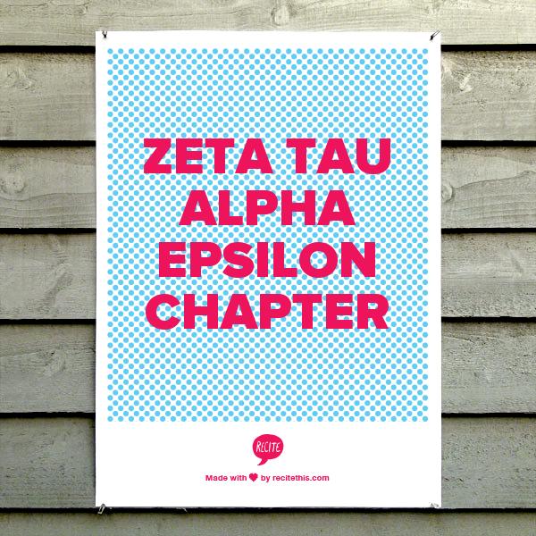 Zeta Tau Alpha Epsilon Chapter (With Images