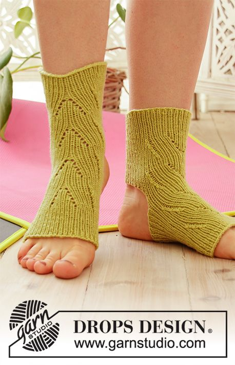 Knitted yoga socks - free knitting pattern | Yoga socks ...