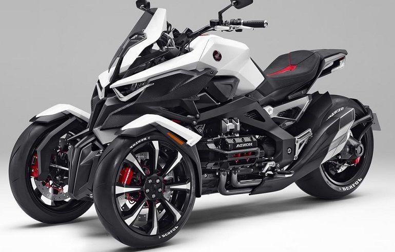 Honda Neowing Three Wheeler Hybrid Concept Revealed