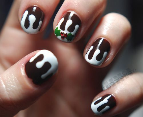 Figgy pudding nails!