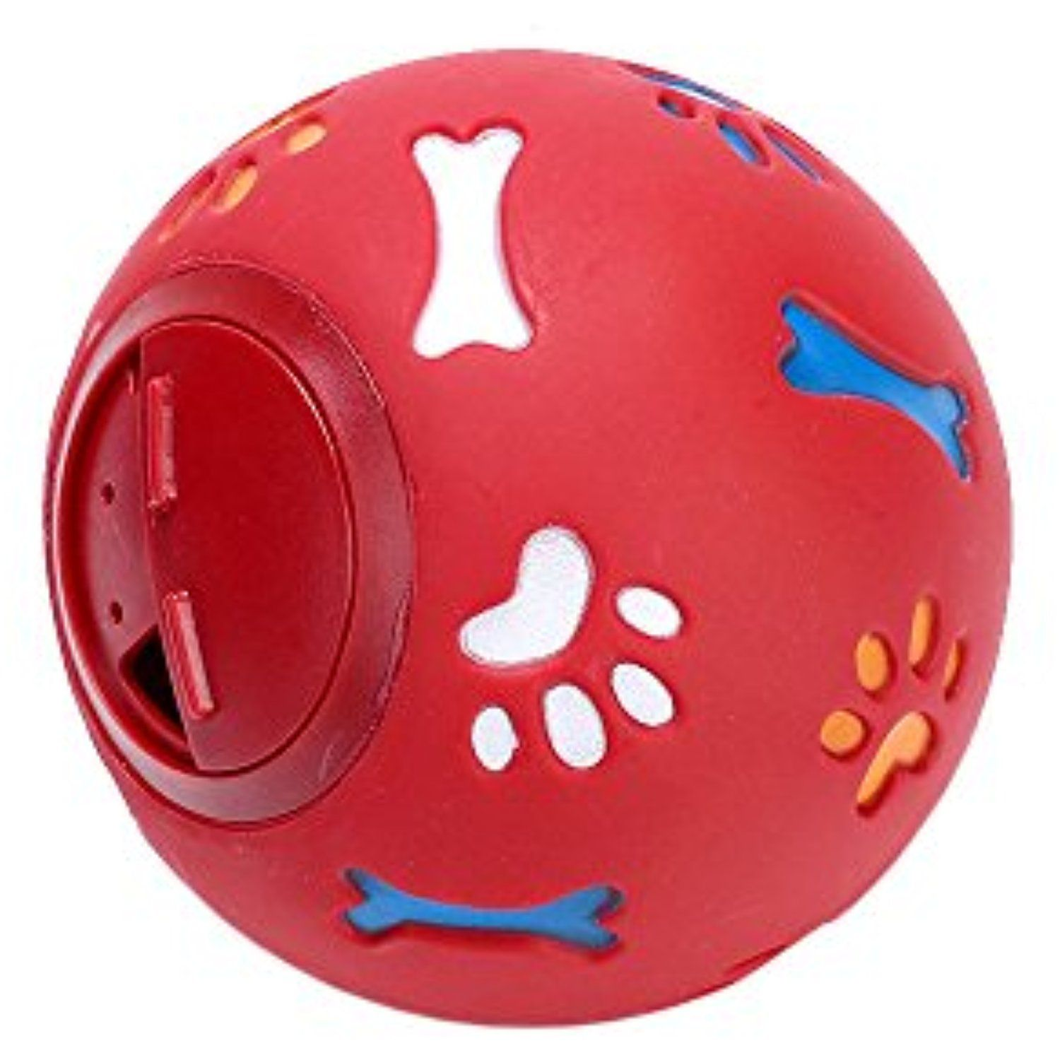 Zhwky Pet Toys Resistant Bite Food Storage Dogs Puzzle Ball Size