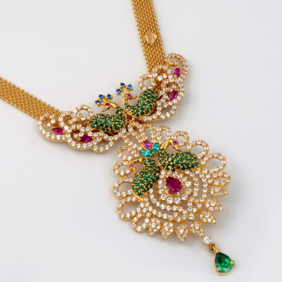 Extremely beautiful Peacock design Jewellery | jewellery