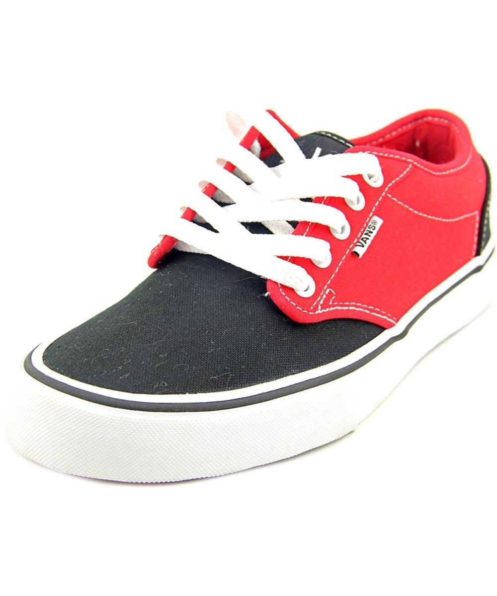 VANS Vans Atwood (2 Tone) Re Men Round Toe Canvas Black Skate Shoe'