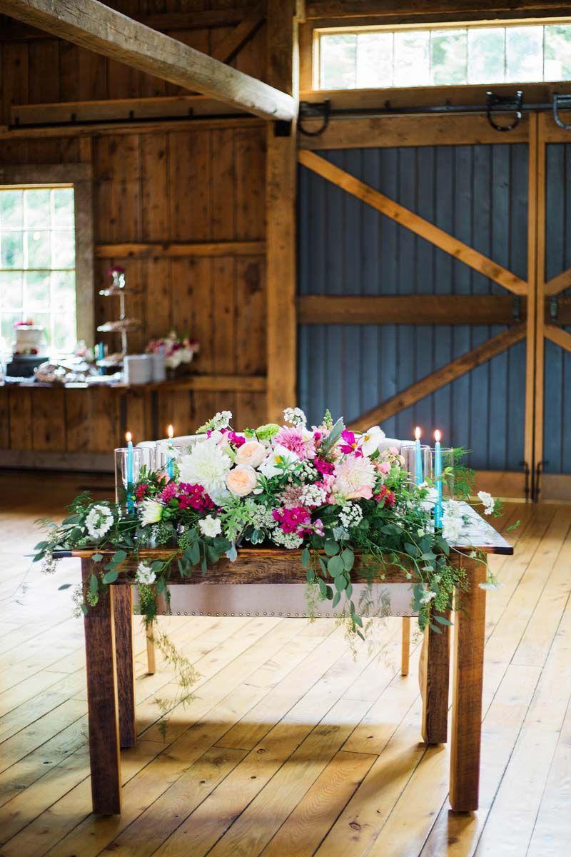The Barn at Flanagan Farm Wedding in Maine | Julie K. Gray ...