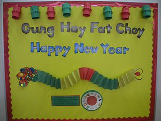 Chinese New Year bulletin board | Chinese new year ...