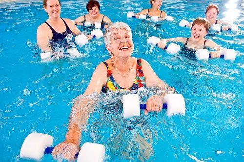 Aqua Aerobics Google Images Water Aerobics Aerobic Exercise Water Exercises