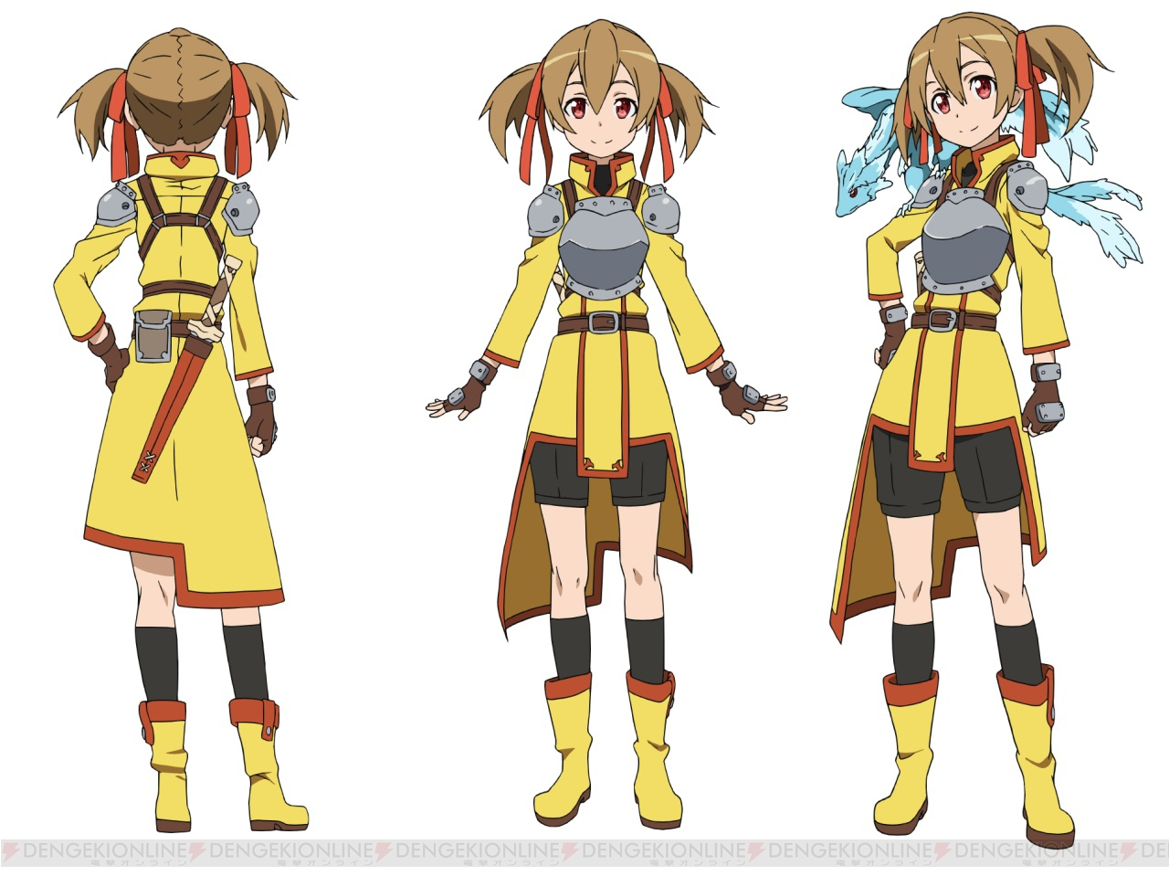 sword art online Silica Costume & Armor Design