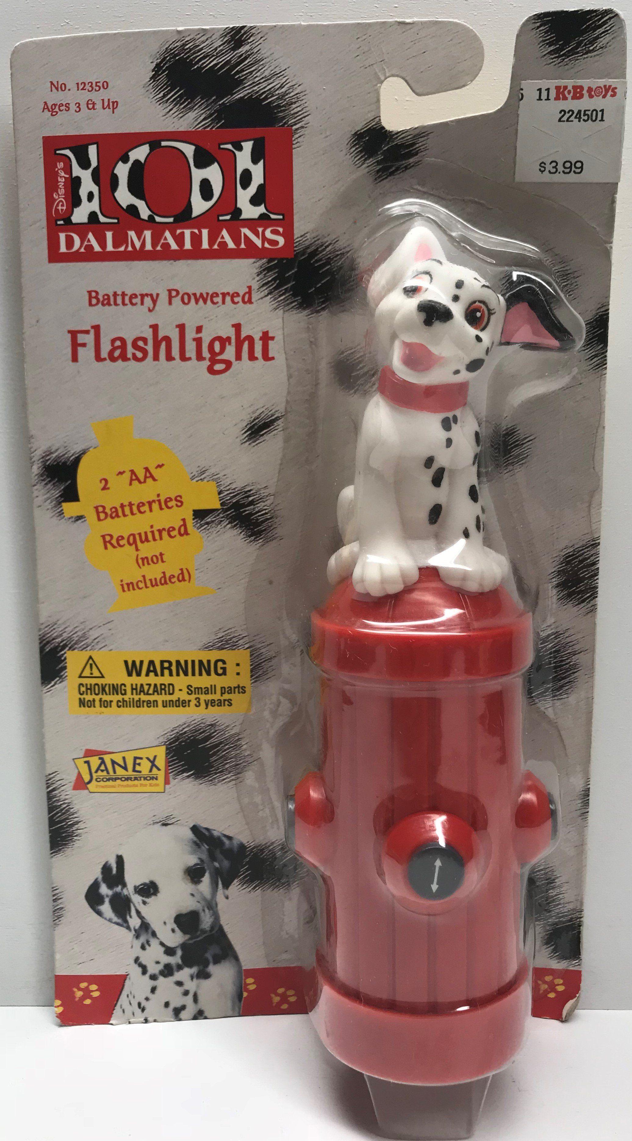 Tas038525 1996 Janex Disney S 101 Dalmatians Flashlight