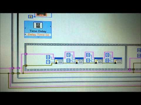 2) Control de un motor a pasos con LabView y Arduino - YouTube