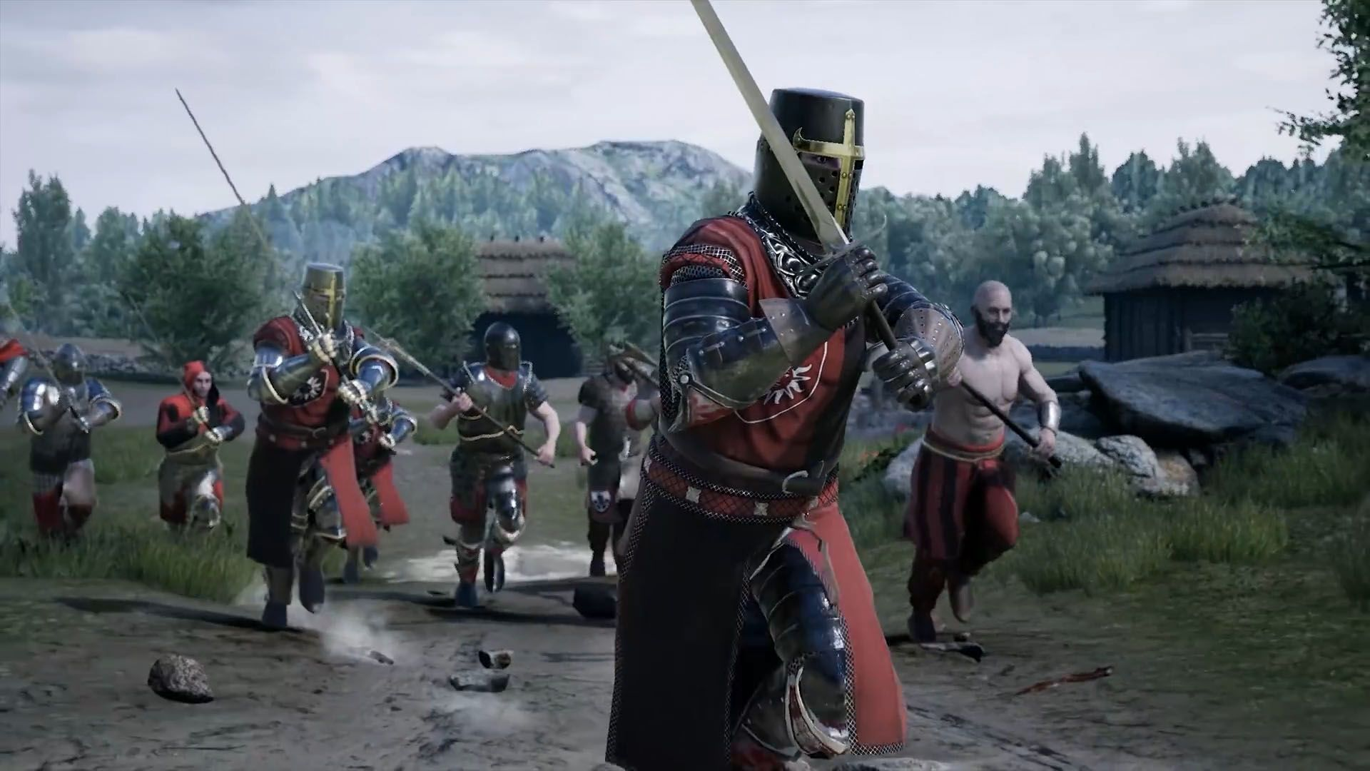 العرض الدعائى الرسمى للعبة Mordhau القادمة من تطوير فريق Tirternion Old Video Video Games Combat