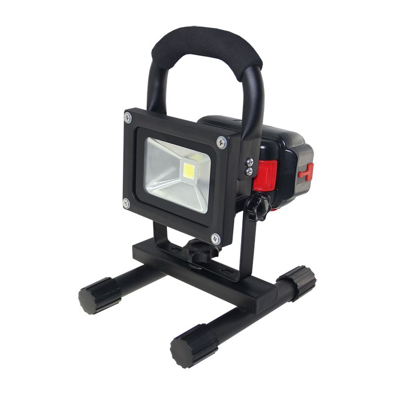 Portable 10w Rechargeable Led Flood Light Waterproof Hand Carry Outdoor Led Floodlight With Detachable Battery Freeship Novelty Lighting Led Flood Flood Lights