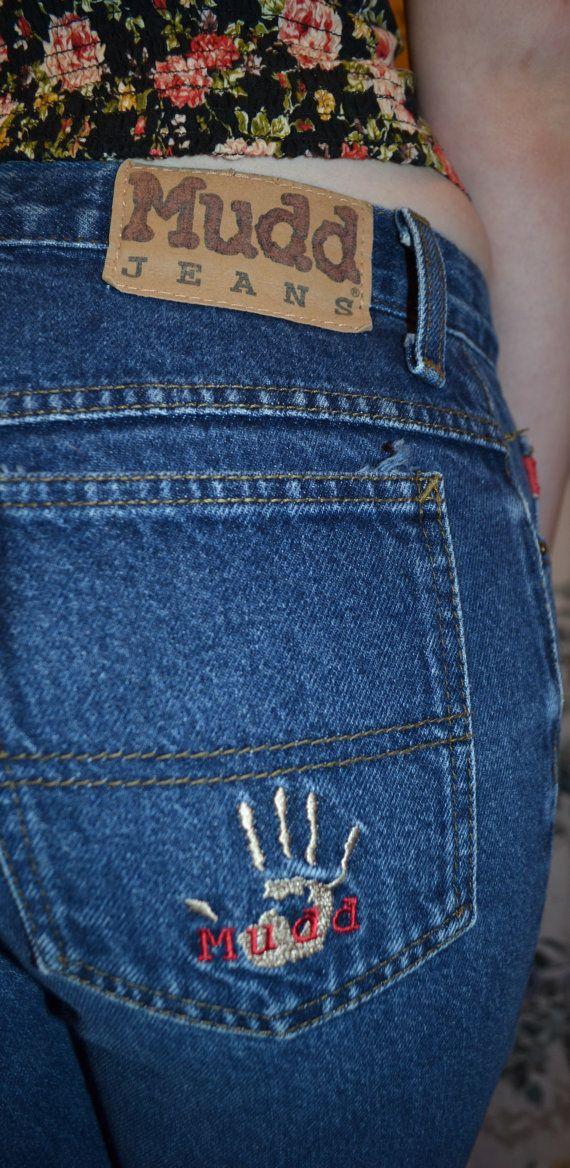 Bell bottom mudd jeans