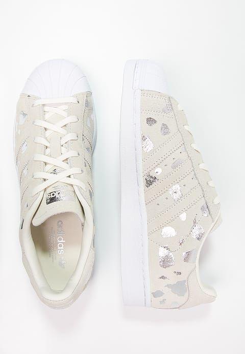 official photos d9794 9908e ... low price adidas originals superstar sneaker low offwhite metallic  silver zalando.de 746c0 5959a
