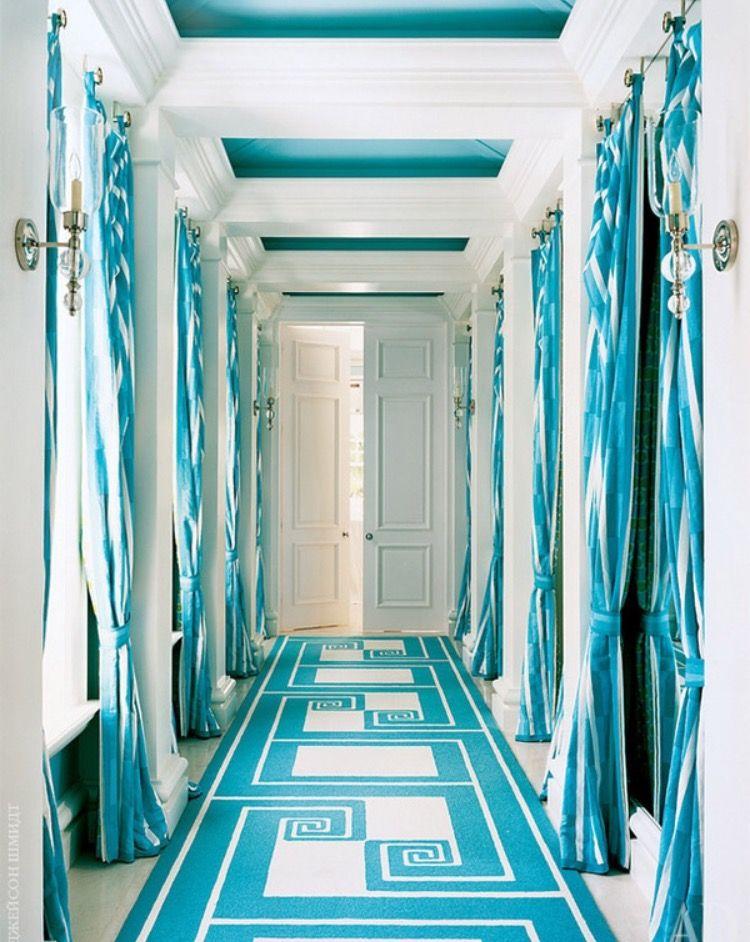 Décoration intérieure / Couloir entrée hall / Couleur coloré ...