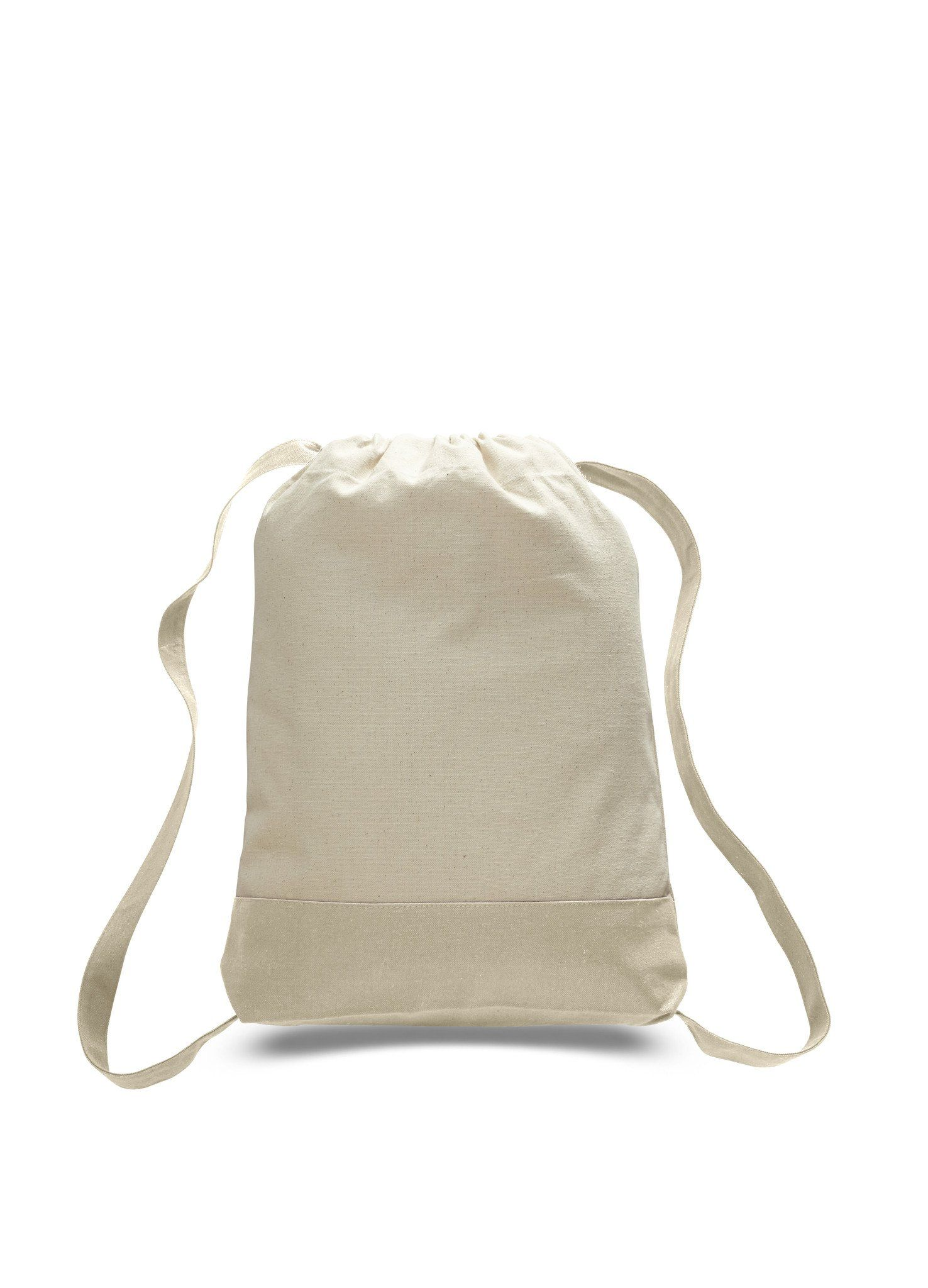 47c81cf91b High Quality Heavy Canvas Durable Gym Drawstring Backpack - BPK57