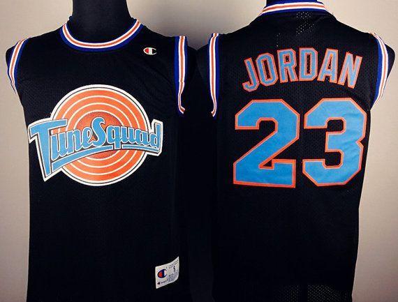2a91358b06d2 Michael Jordan 23 Jersey Space Jam Tune Squad Basketball Looney Tunes  Warner Bros Basket Ball Shirt Sports Tank Top J Js Jordan 23 BJ23