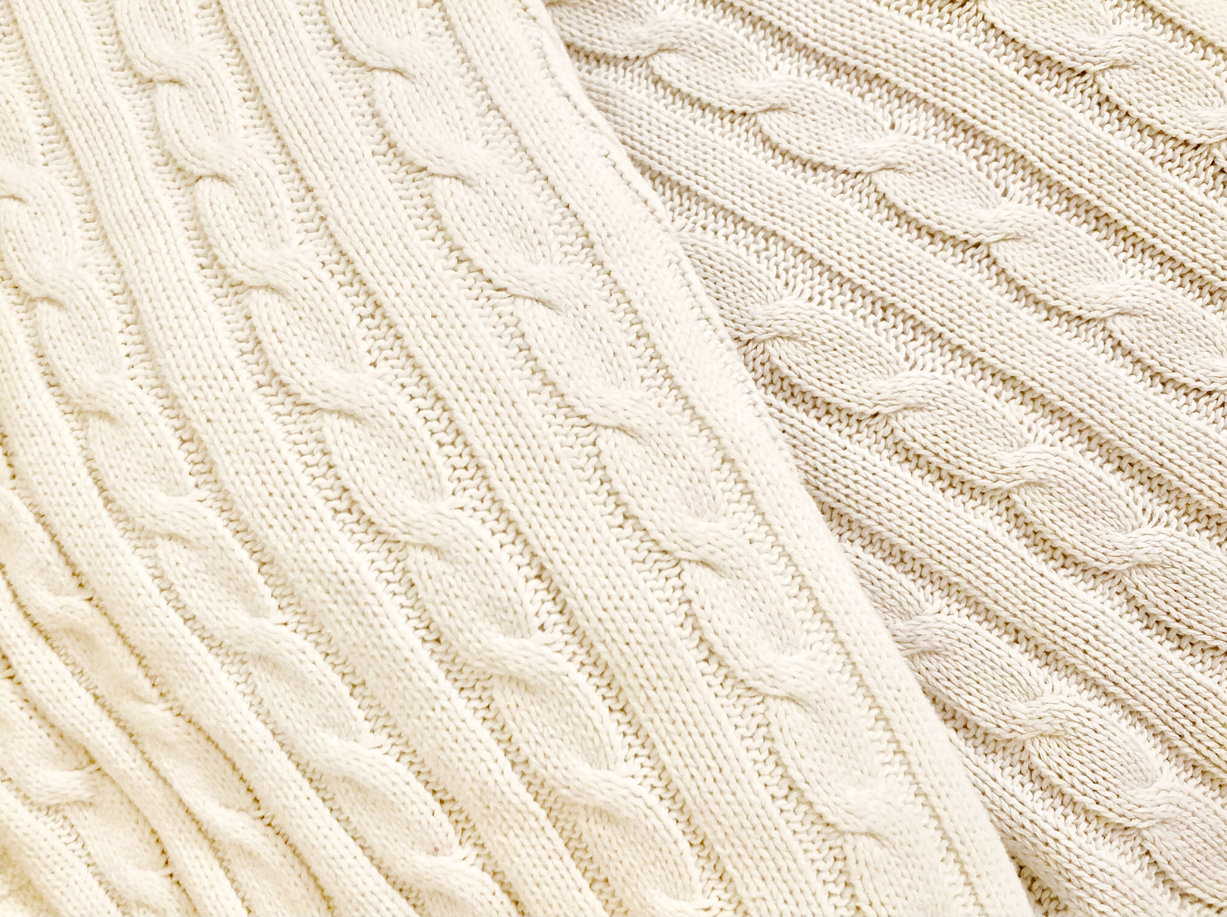 a896150a06c01 Pure natural cotton. Cable knit baby blankets. Breathable ...
