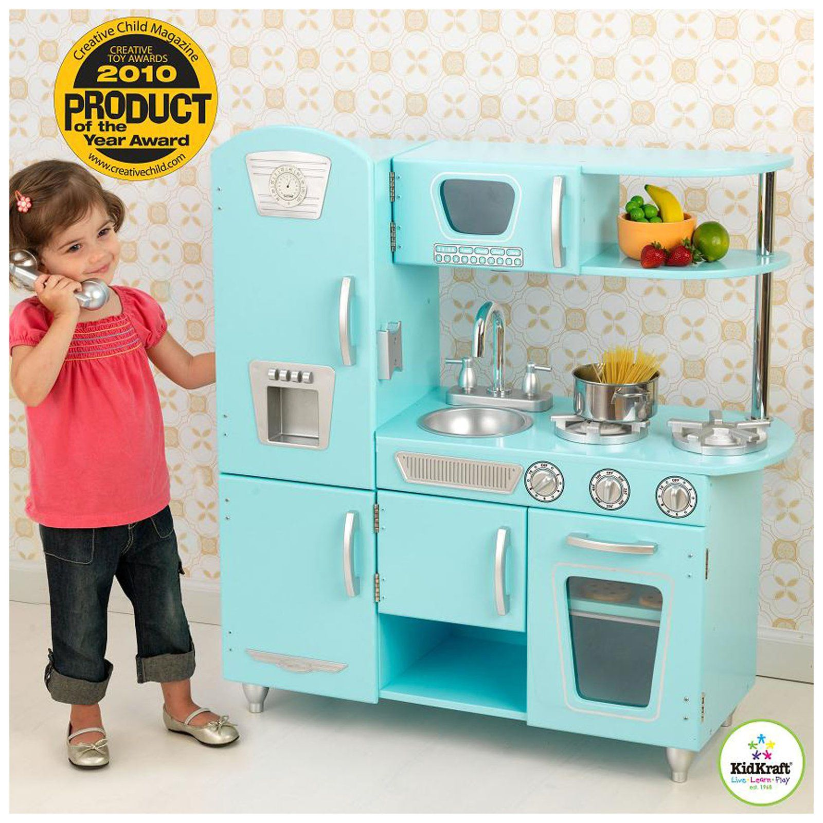 KidKraft Vintage Kitchen Blue - Free Shipping $143.99 (totally ...