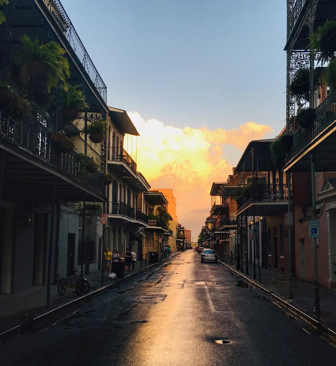 Earlier this wee Nouvelle orleans, Sunset, Louisiana