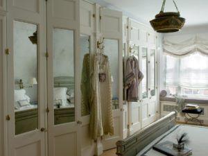 Beautiful Fancy Mirrored Closet Doors