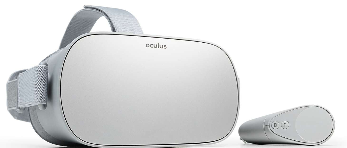 Facebook S Oculus Go One Of The Best Cordless Vr Headsets Coming Soon Vr Headset Oculus Virtual Reality Headset