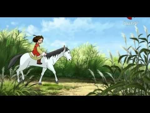 09 كرتون الأطفال ماسة Horses Animals
