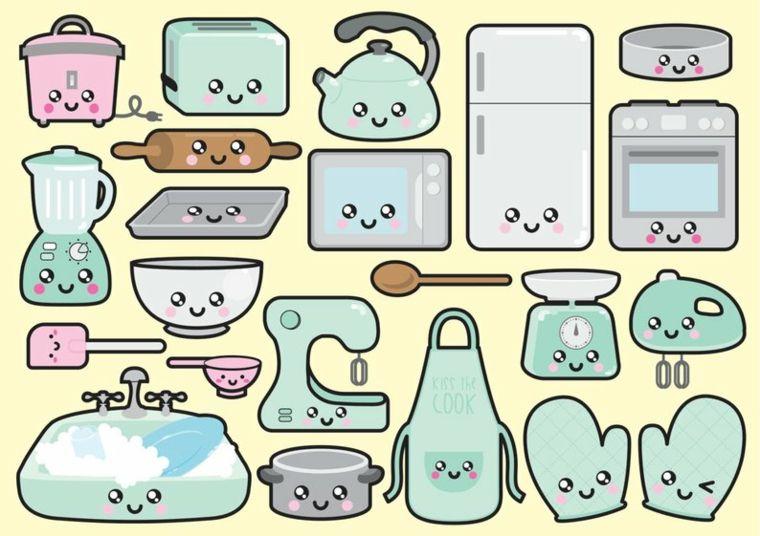 Disegni Facili Da Disegnare Attrezzi Domestici Disegni Colorati Della Cucina Disegni Clip Art Idee Per Disegnare