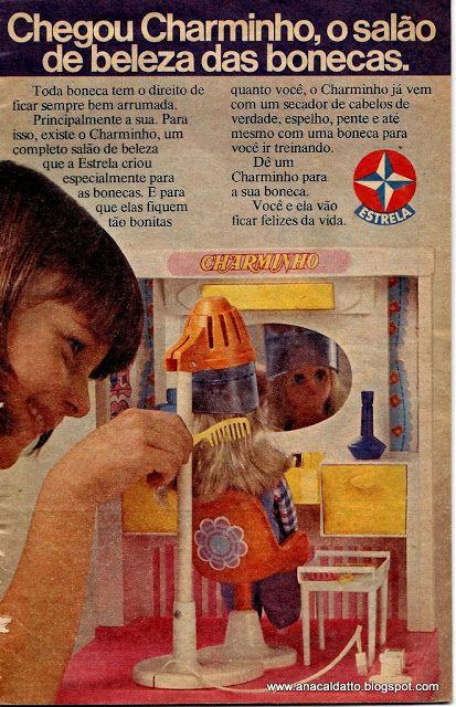 1977- Charminho o Salão de Beleza da Boneca Susi