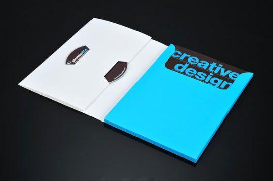 Idéias para Pastas de Apresentação Brochures, Presentation - resume presentation folder