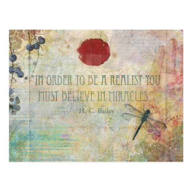 Miracle Postcard #miracle. #dragonfly #texture #inspiration #inspiring #inspiration #inspirational #inspirationalquotes #inspirationalgifts #gifts #giftideas #inspire