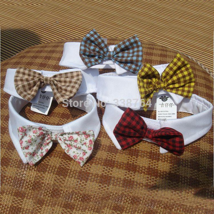 af000370d2bef Cheap Ventas calientes animales domésticos   artículos colores rojos gatos  accesorios de la boda corbata perros