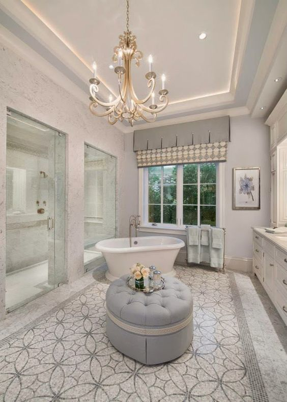 Upscale Bathroom Designs For The Soul #Bathroom #Interiors