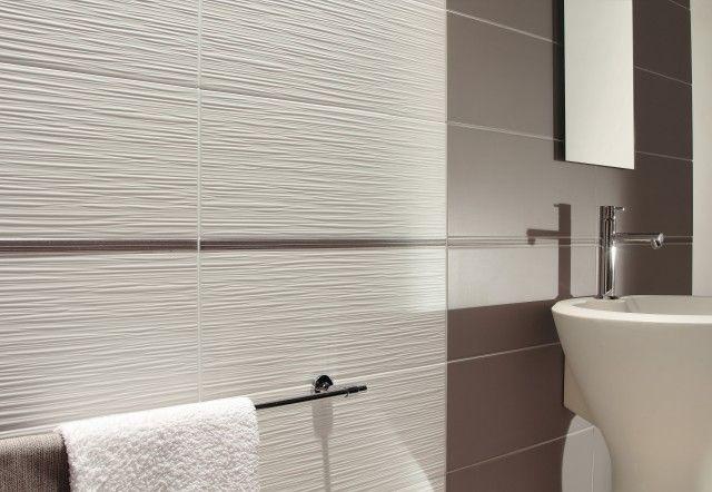 20x50 Latvia Silk Textured White Wall Tile Wall Tiles