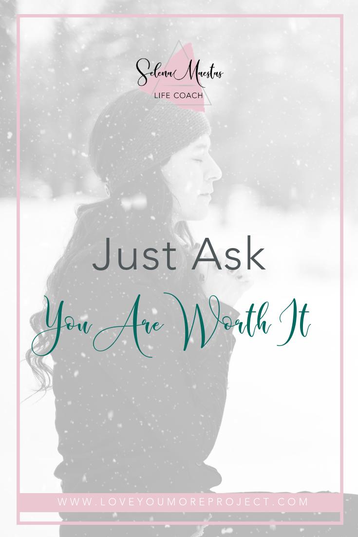 Just Ask — Selena Maestas Coaching   Life coach, Coaching ...