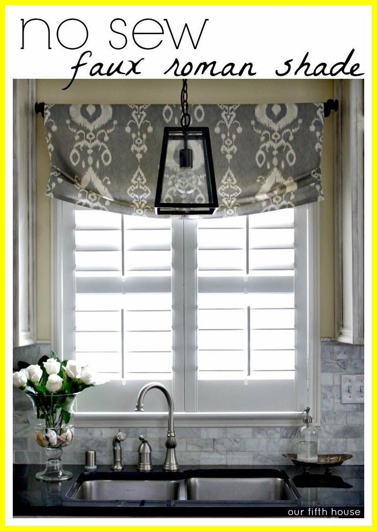 94 Reference Of Kitchen Sink Window Blinds Diy Curtains Window Treatments Kitchen Sink Kitchen Window Treatments