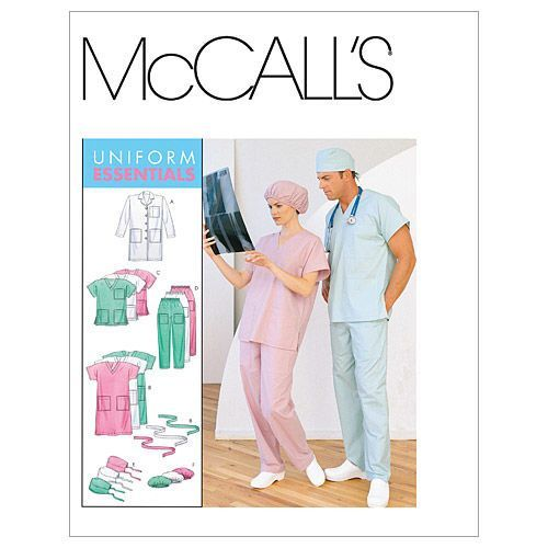 Mccall Pattern M6107 Sm - Med - Lrg - Mccall Pattern
