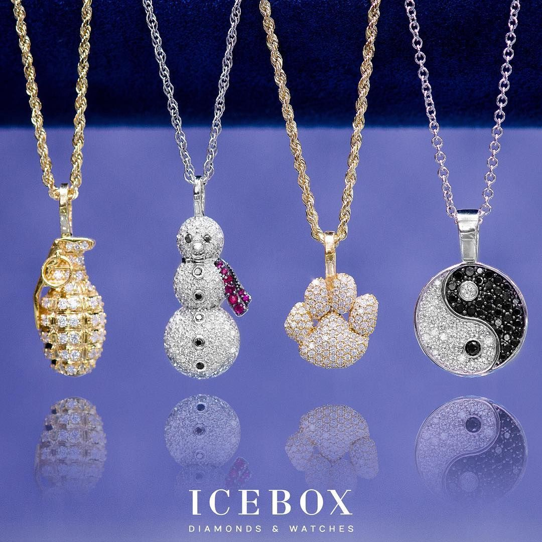 dcc6d3f184680 Emoji Pendants From Icebox! Shop Now @ www.icebox.com | Pendants in ...