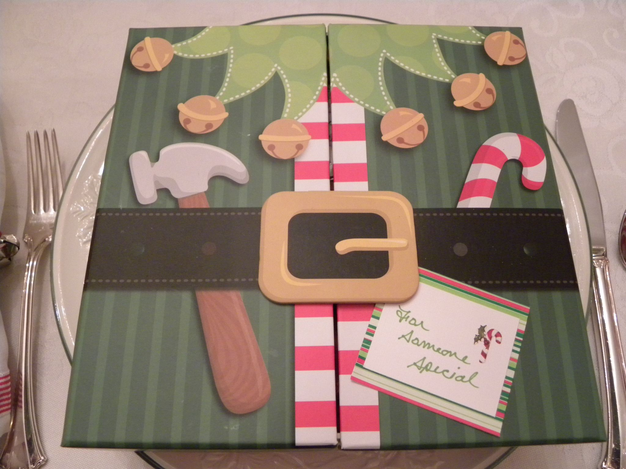 Individual ornament boxes - For Someone Special Gift Box At Every Plate Elf Themed Christmas My Moms Individual