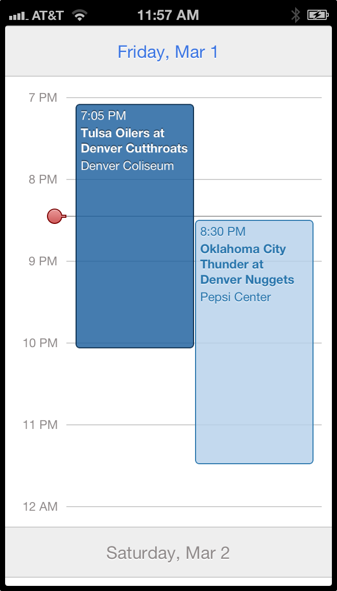 UICollectionViewLayout for displaying chronological data