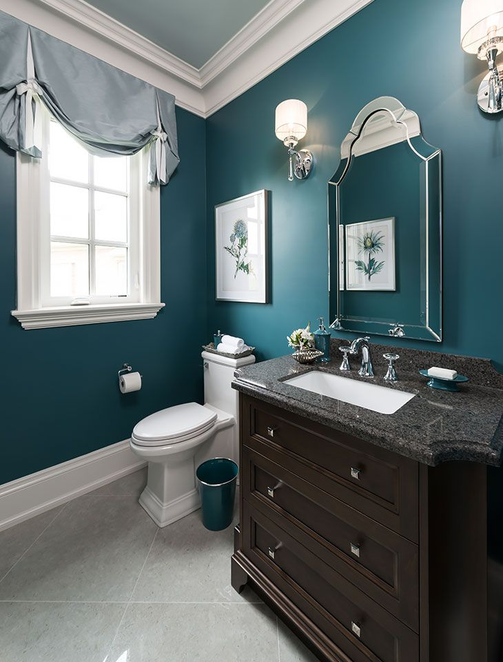 Kylemore communities peyton model home jane lockhart - Bathroom color schemes brown and teal ...