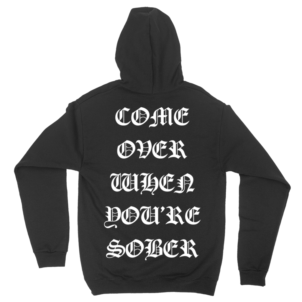 4b325bc411ac Come Over When You're Sober Tour Hoodie Xxxtentacion Clothing, Clothing  Ideas, Lil
